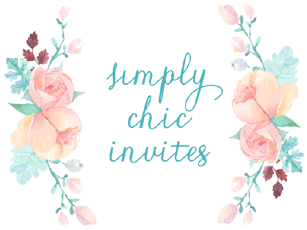 Simply Chic Invites