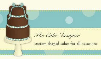cake designer logo - Indian Wedding Cakes